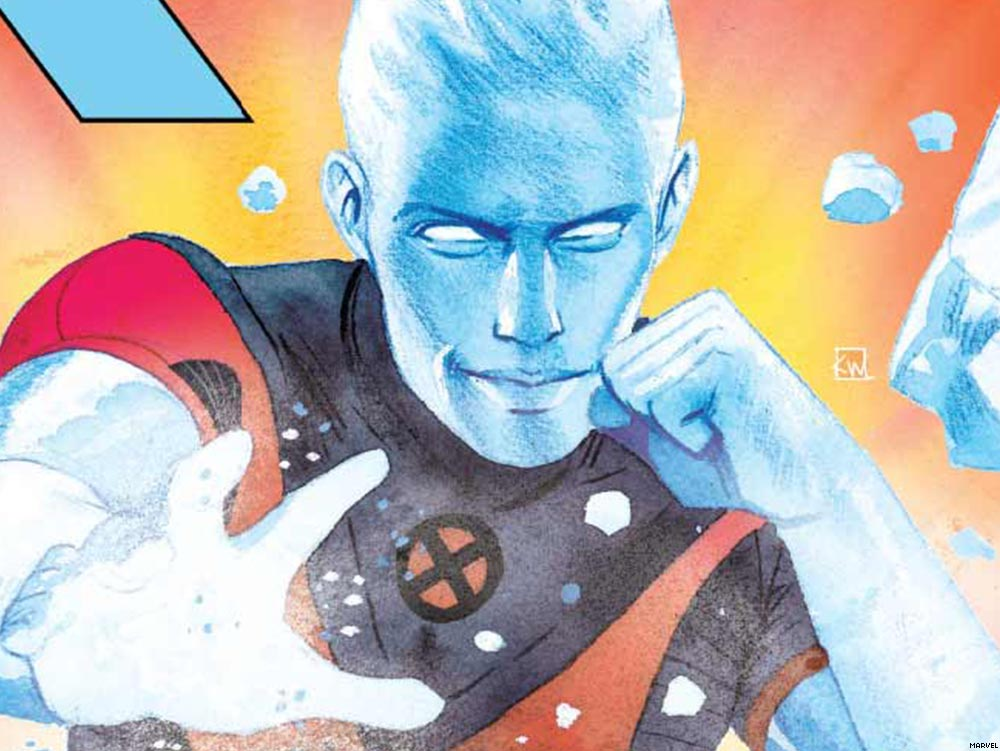 Marvel's Iceman Finally Comes Out and That's Just the Beginning