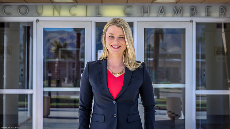 Palm Springs' Millennial Councilwoman Stared Down Biphobia — In the LGBT Community