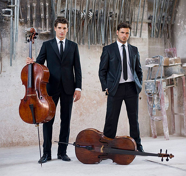 2 Cellos on 'Glee,' Elton John, and Wishing They Were Gay