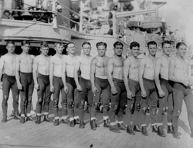 Members Of A US Navy Wrestling Team1930SX633 0