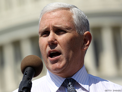 Indiana Governor Mike Pence X400 0