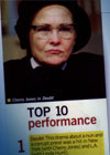 2005 top             10: performance