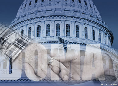 Congressional Leaders     Mull Partial DOMA Repeal