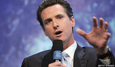 Newsom, Paterson             Headline Prop. 8 Fund-Raiser In New York