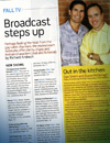 Broadcast steps             up
