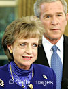 Bush chooses             White House counsel Harriet Miers for Supreme Court