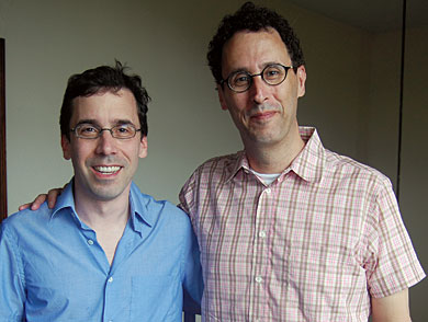Love             Stories: Tony Kushner and Mark Harris