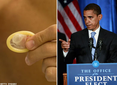Obama to Remove             Abstinence Requirement for HIV Funding