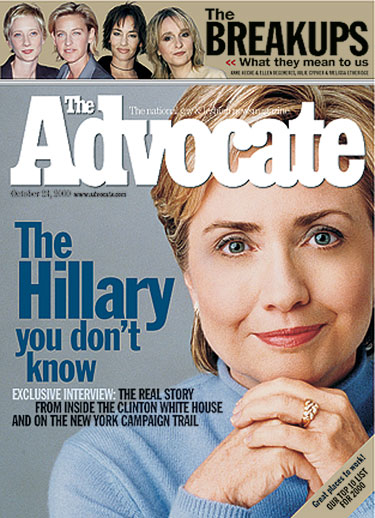 Hillary: Up close and personal