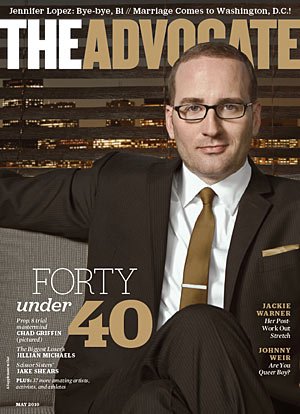 40 Under Forty Chad Griffin