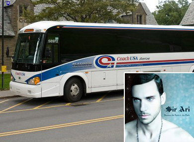 Gay Couple Told to Move to Back of Bus