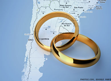 Argentina's Lower House OKs Marriage Bill