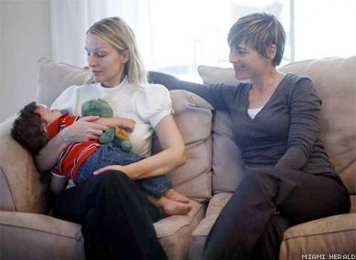 Fla. Court Upholds Lesbian Adoption Ruling