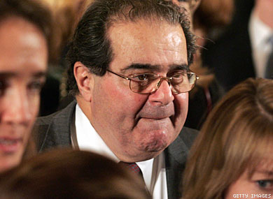 Scalia On Constitution and Gays