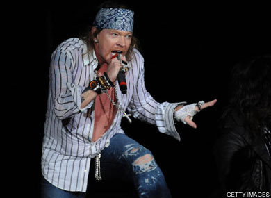 Axl Rose Parties at London Gay Club