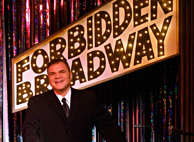 Forbidden Broadway Behind the Mylar Curtain