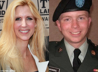 "Coulter: Gay Soldier Created ""Disaster"""
