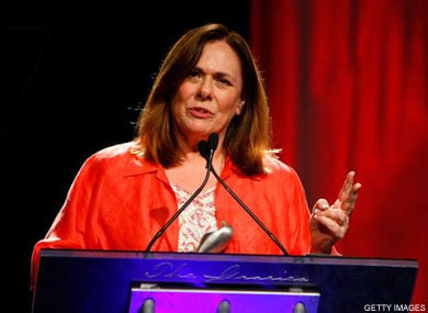 Candy Crowley Talks About Weight Loss
