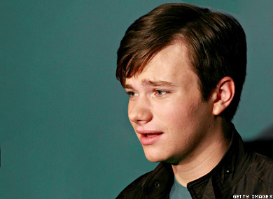 Glee Chris Colfer Not Out After All