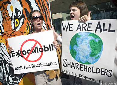 Exxon Mobil Rejects Pro-Gay Policy Again