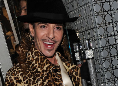 John Galliano Arrested in Paris