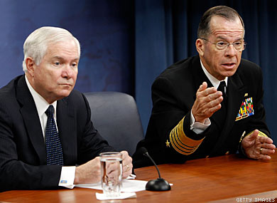 Mullen and Gates Condemn Generals Letter on DADT