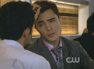 Gossip girl chuck is gay