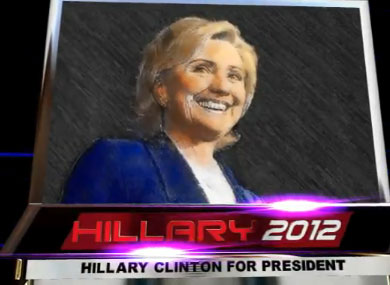 The Dentist Behind Hillary 2012