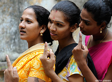 Third Gender for Trans Voters in India