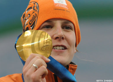 Dutch Lesbian Wins Gold in Speed Skating