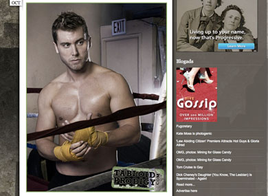 Holy Hunk Lance Bass Bulks Up