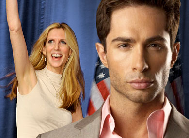 Michael Lucas vs. Ann Coulter