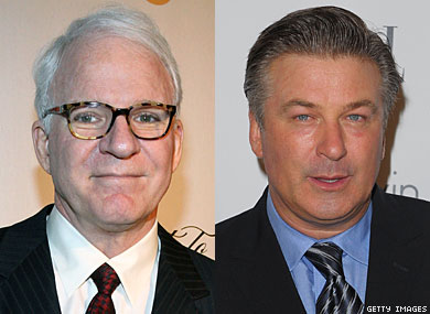 Baldwin and Martin to Host Oscars