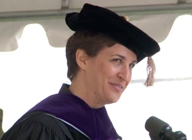 Maddow Addresses Smith Commencement