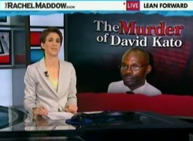 Maddow: Kato Murder An American Story