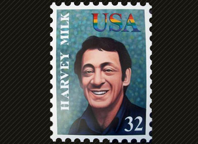 Harvey Milk Stamp Promoted