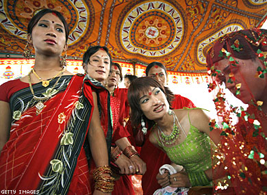 Nepal Holds First Gay Pride Parade