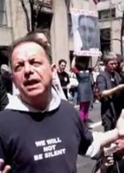 LGBT Protest at NYC Easter Parade