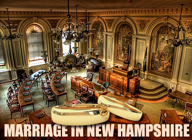 NH House Rejects Gay Marriage Ban
