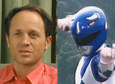 Blue Power Ranger Comes Out
