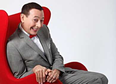 Pee-wee Herman Is Flying High