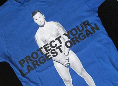 Sean Avery Gets Naked for Marc Jacobs
