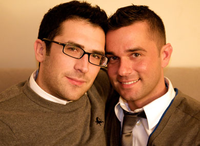 Crate & Barrel Gay Couple Takes Second