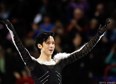 Johnny Weir Comes Out Against Antifur Activists