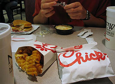 Chick-fil-A Backed Retreat: No Gay Couples