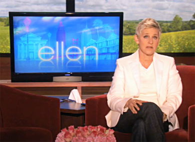 Ellen Calls for End to Bullying, Suicide