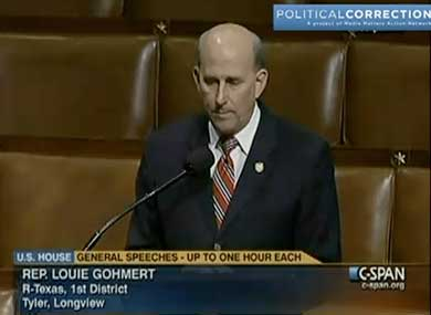 Rep. Gohmert on Oversexed Gay Soldiers