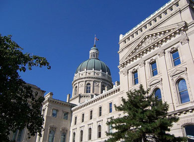 Indiana Senate Holds Marriage Ban Hearing