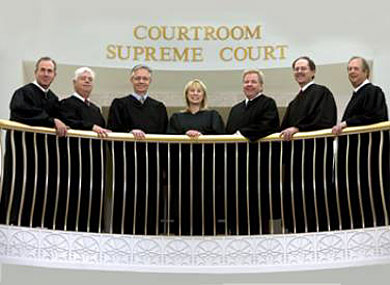 Iowa Supreme Court Judges Booted