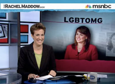 "Maddow on ""Ex-Gays,"" Christine O'Donnell"